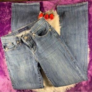 Rock & Republic Women's Flared Jeans Blue Size 6